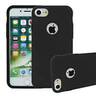For iPhone 7 4.7'' Rugged Hybrid 2 in 1 Shockproof Rubber TPU PC Hard Case Cover