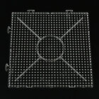 1x Square Round Hexagon Pegboards Transparent For 5mm Hama Beads DIY Kids Toy EW