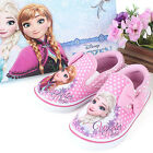 Disney Frozen  Ribbon Canvas Medium Slip On Pink Comfortable Child Sneakers