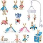 Peter Rabbit Flopsy Bunny Plush Soft Toy My First Blanket Mobile Jack in the Box