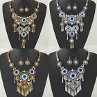 New Beauty Women's Pendant Bib Statement Earrings Necklace Jewelry Set