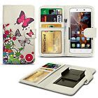 For alcatel Fierce XL (Windows) - Clip Printed Series PU Leather Wallet Case