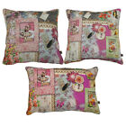 Scatter Box Memoire 100% Cotton Feather Filled Cushion, Pink