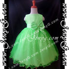 #SBG8 Baby Infant Flower Girl Wedding Pageant Formal Birthday Party Gown Dress
