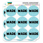 "2"" Scrapbooking Crafting Stickers Names Male Wa-Wy"