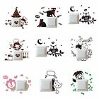 Home Anime Cartoon Various Light Switch Socket Decor Decals Mural Wall Stickers
