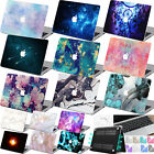 "Galaxy MARBLE Paint Rubberized Hard Case Cover For Macbook Air 11""12"" Pro 13""15"