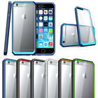 Double Color transparent Armor Dustproof Back Case Cover For Samsung Galaxy