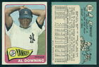 (46609) 1965 Topps 598 Al Downing SP Yankees-EX