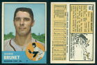 (46937) 1963 Topps 538 George Brunet Colts-EX