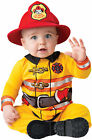 Brand New Fearless Brave Firefighter Baby Infant Costume