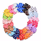 "Купить 20/40Pcs 3"" Baby Girls Grosgrain Ribbon Boutique Hair Bows For Teens Toddlers"