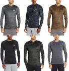 Under Armour Men's BaseLayer Crew Shirt Many Styles, Colors and Sizes