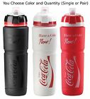 Elite Coca-Cola Maxicorsa 1000ml Water Bottle Black Red White w/ Dirt Cover Coke $21.09  on eBay