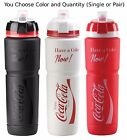 Elite Coca-Cola Maxicorsa 1000ml Water Bottle Black Red White w/ Dirt Cover Coke $12.5  on eBay