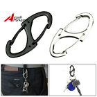 1Pc Metal 8 Shaped Buckle EDC Keychain Carabiner Fast Hook Tool Outdoor Camping