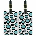 Luggage Suitcase Carry-On ID Tags Set of 2 Dreaming Of P-W