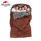 Outdoor Camping Hiking Travel Portable Family Cotton Sleeping Bags 5/15℃ 41/59℉
