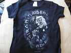*NEW* IRON MAIDEN NUMBER OF THE BEAST BLACK T SHIRT 3-6, 6-12, 12-18 Mth
