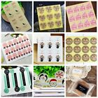 Внешний вид - Festival Days Party Gift Cake Candy Baking Bag Sticker Seals Labels Decals Tags