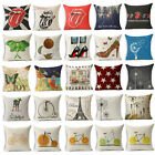 Rock Exaggerate & Partysu Cotton Linen Pillow Cover Cushion Covers Pillow Cases