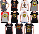 Guns N Roses T Shirt Appetite Bullet band Logo Official Womens Skinny Fit