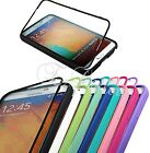 for SAMSUNG GALAXY NOTE III 3 FULL BODY TOUCH THROUGH SCREEN CASE 25 50 100 LOT