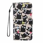 Luxury Flip Wallet Strap Stand Slot Leather+TPU Case Cover For iphone Huawei LG