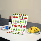 Christmas Printed Kitchen Dishcloth Tea Towel Cleaning Duster Wash Cloth 38x64cm