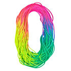 550 Colorful Rainbow Cord Tie Dye Style Type III 7 Strand Paracord