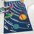 Flair Rugs Matrix Kiddy Planets Childrens Rug
