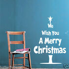 Merry Christmas Xmas Decals Removable Wall Art Stickers Vinyl Home Kids Decor