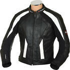 RTX Sports Cruiser Touring Motorcycle Biker CE Armoured Leather Motorbike Jacket