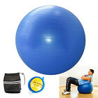 YOGA BALL EXERCISE Balance 65cm Fitness Stability Pilates Gym Anti Burst & Pump image