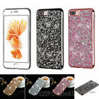 Bling Glitter Plating Silicone Soft TPU Case Cover For iPhone 5/6/6s/7 Plus S001