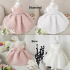 Princess Girl's Ball Birthday Wedding Party Sleeveless Dress Gown for 1-6 Years