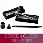 Screen Queen Deluxe Screenless Pipe by Black Leaf