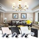 1Gang Remote Control Touch Dimmer Glass Panel Home Wall Light Switch AC110V-240V