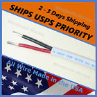 14/2 AWG Gauge Tinned Copper Marine Boat Duplex Wire Cable Red/ Black - USA