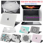 "For 2016 Macbook PRO 13"" A1708/A1706(Touch Bar)/Clear Rubberized Hard Case cover"