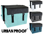 URBAN PROOF BICYCLE BAG, REAR DOUBLE PANNIER BIKE BAG, WATER RESISTANT, 40 LITRE
