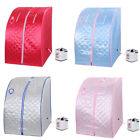 2L Portable Home Steam Sauna Spa Slimming Full Body Detox Therapy Adjustable Opt