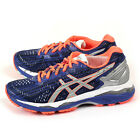 Asics GEL-Kayano 23 Lite-Show Blue/Silver/Flash Coral Expert Running T6A6N-4593