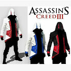 Cool Stylish Creed Hoodie Men's Cosplay For Assassins Jacket Coat Anime Costume