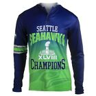 Seattle Seahawks Super Bowl XLVIII Champions Commemorative KLEW Performance Hood