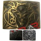 "Scottish Kilt Belt Buckle Stag Head High Quality Buckles Size Approx. 3""x2.25"""