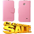 clearance sale! Pink Card Slot Leather TPU Case Cover For Varies Phone