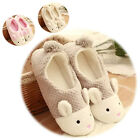 Lovely Bunny Womens Men Soft Sole Warm Slippers Home Indoor Coral Flat Shoes HOT