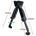 Tactical Foldable Foregrip Bipod Picatinny Rail Quick Release Mount for Rifle F7