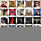 "18""Frida Kahlo Harry Quinn Joker Pillow Case Pillow Cover Sofa Cushion Cover Dec"